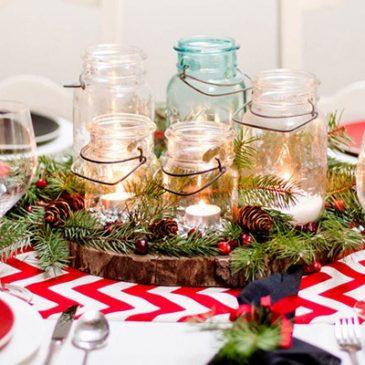 Decorar nuestra mesa en Navidad