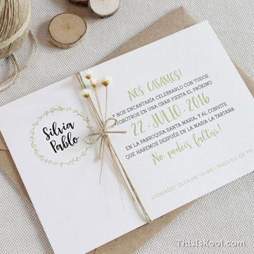 ¿Cómo redactar una invitación de boda?
